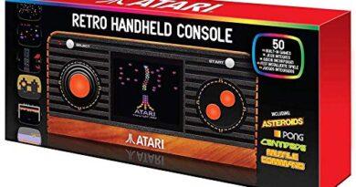 ATARI RETRO HANDHELD CONSOLE ( 50 GAMES BUILT IN)