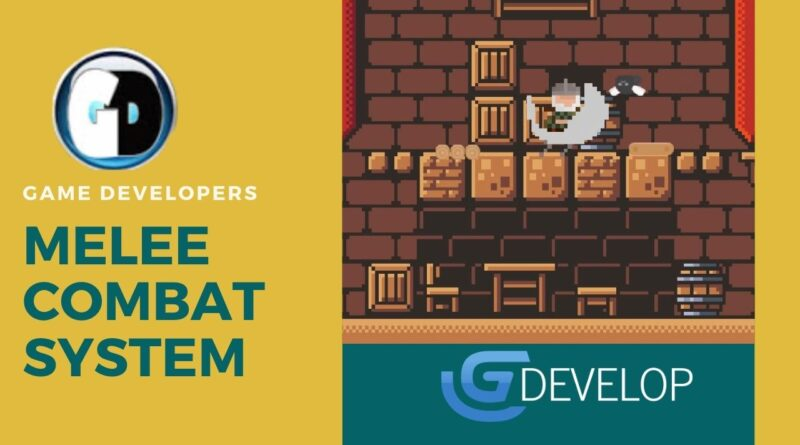 Gdevelop Melee Combat System tutorial