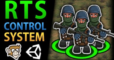 Control Units and Give Orders! (Unity RTS Tutorial)