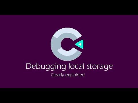 Construct 3 tip : debugging local storage
