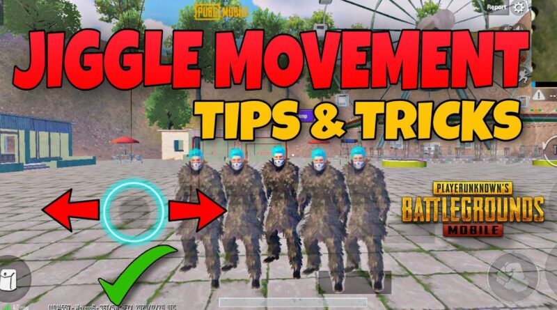 """""""Must-know"""" jiggle movement Guide (Tips And Tricks) Pubg Mobile"""