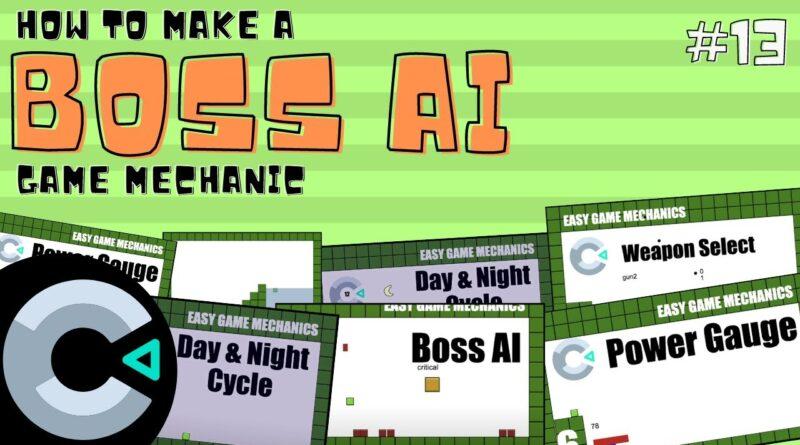Construct3: Boss AI, Easy Game Mechanics 13