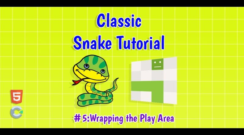 Construct 3: (#5) Wrapping the Play Area | HTML5 Game Tutorial