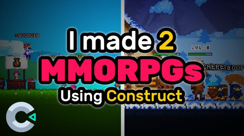 How I made 2 MMORPGs using Construct - Devlog