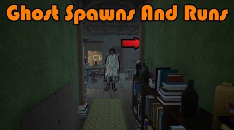 Ghost Spawns And Runs Through Doorway Jumpscare - Unreal Engine 4 Tutorial