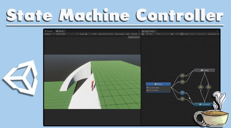 How To Make A State Machine Character Controller - Advanced Unity Tutorial