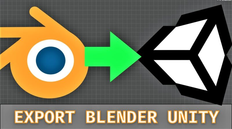 [#8] Automating the Blender to Unity pipeline using the Preset Manager and AssetPostprocessor
