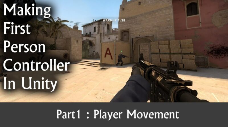 How to make First person controller in unity| Unity hindi tutorials | Learn Game Development