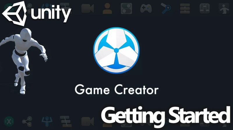 Unity Game Creator Tutorial - Getting Started