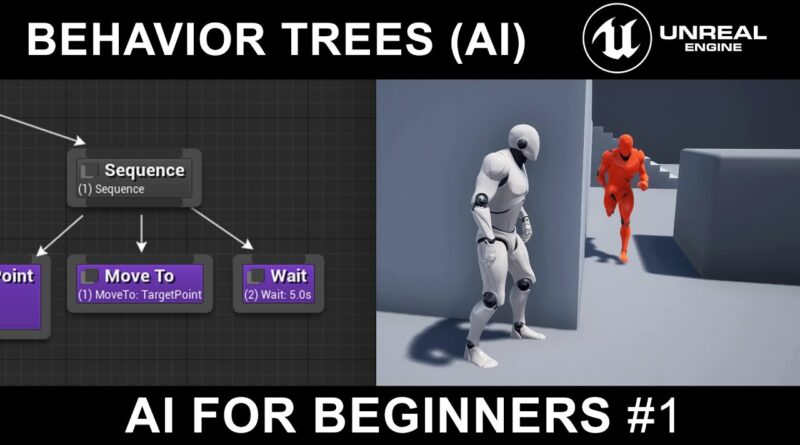 Unreal Engine 4 Tutorial - AI - Part 1 - Behavior Trees and AI Controllers