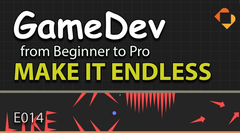 GameDev from Beginner to Pro - MAKE IT ENDLESS (E014) - Endless Runner in Buildbox