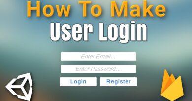 Unity User Login System Tutorial - Firebase Authentication