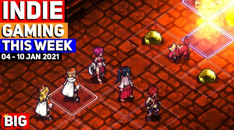 Indie Gaming This Week 04 - 10 Jan 2021