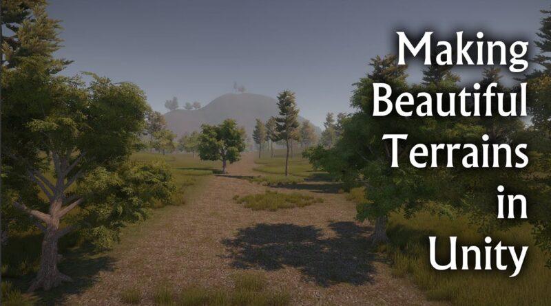 Making Beautiful Terrains in Unity | Unity Hindi Intermediate Tutorials | Part 1