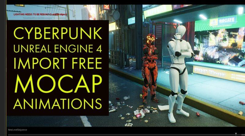 Unreal Engine 4 Cyberpunk Tutorial