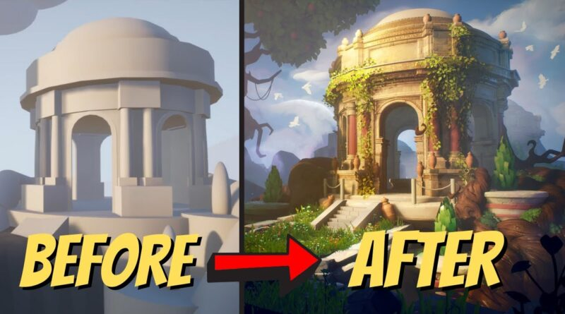 Building Stylized Environments in Unreal Engine