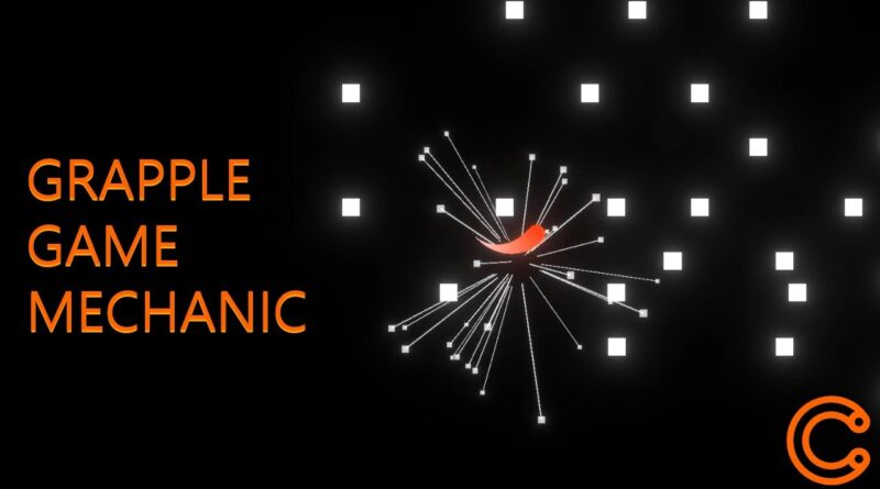 Find Nearest Hinge Grappling Mechanic Based Simple Game ( Unity Tutorial)