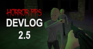 Horror FPS Devlog 2.5: Development So Far and Future Plans