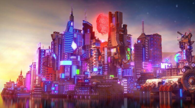[4K] Cyberpunk Project - Minecraft Timelapse by Elysium Fire + DOWNLOAD