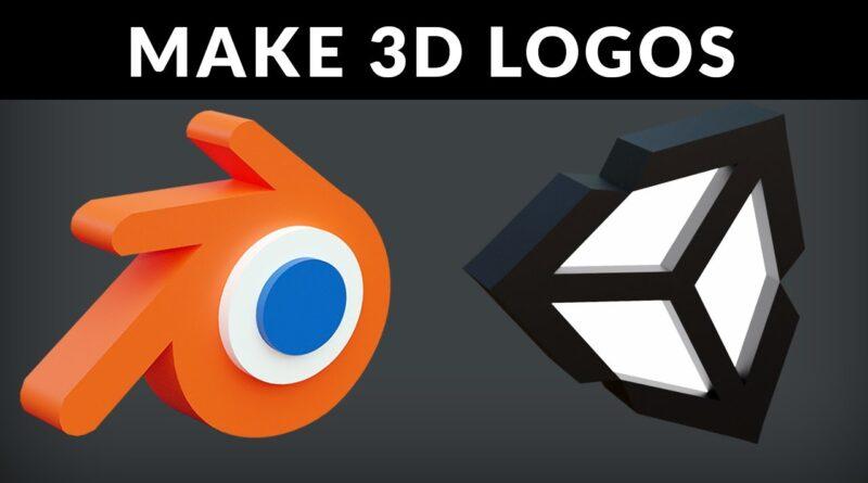 Blender Tutorial - Make 3D Logos In Blender 2.8x