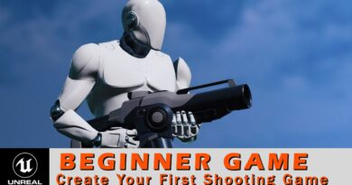Unreal Engine Beginner Tutorial - Make Your First Game
