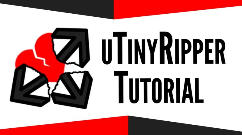 uTinyRipper Tutorial - extract Unity game assets to recover scenes, 3d models, sound, textures...