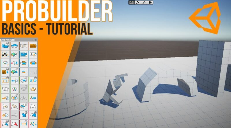 How to use ProBuilder - basics | Unity | Tutorial