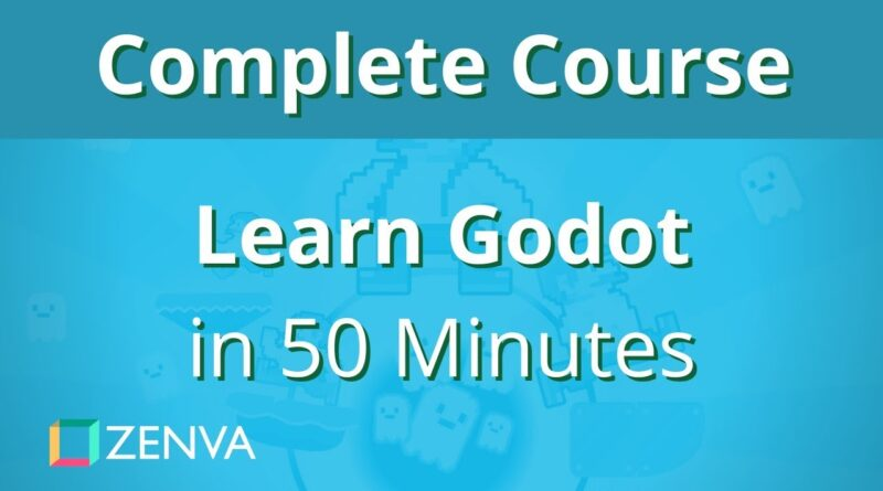 COMPLETE COURSE - Learn the GODOT Game Engine in 50 MINUTES