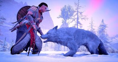 Assassin's Creed Valhalla Creative Ways To Hunt High Level Wolves  Ep 16 i9 10900k Ultra Settings