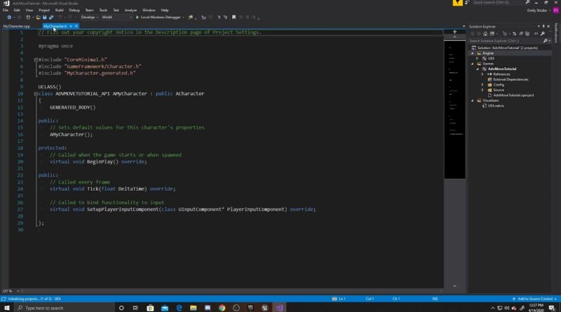 Basic Movement in C++   Advanced Character Controller Part 1   Unreal Tutorial