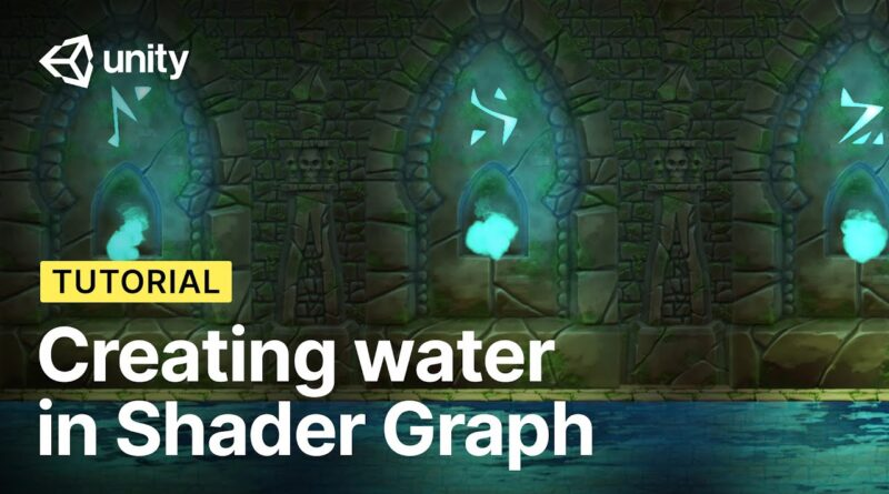 Creating Water with Shader Graph in Unity! | 2D Shader Basics (Tutorial)