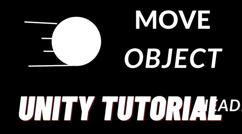 Unity Beginner Tutorial - Move A Gameobject FORWARD (Transform.Translate)