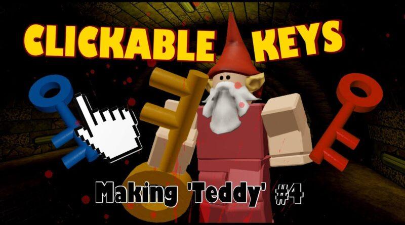 Improving Key Mechanics - Teddy Horror Gamedev #5
