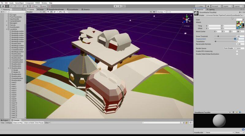 Custom Tessellation shader for unity Universal Rendering Pipeline
