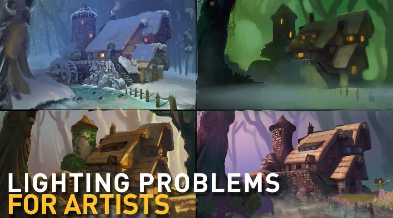 LIGHTING 101 for PAINTERS : connecting to your audience