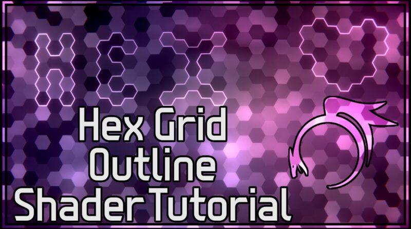 3d Hex Grid Outline Shader! Part 2