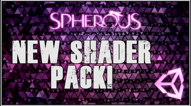 New Shader Pack available for Unity!