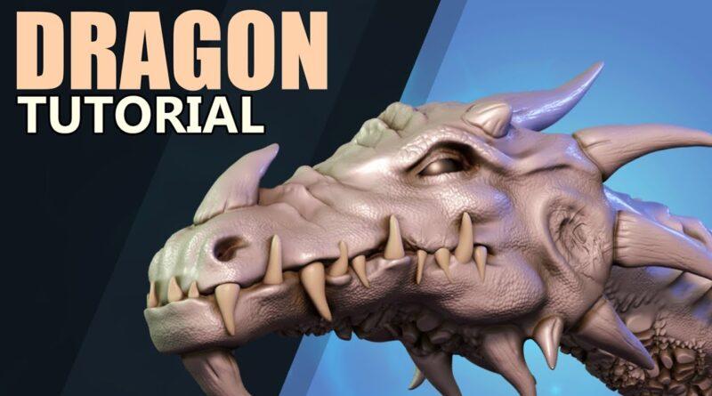 Sculpting a Dragon's Head - Tutorial