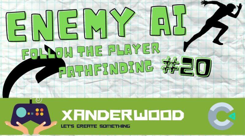 Construct 3 Enemy follow player -pathfinding tutorial