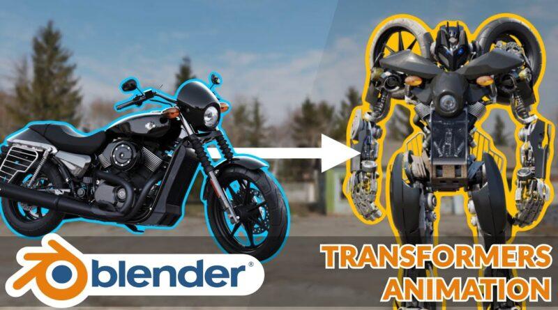 Making Of Transformers VFX - Blender Tutorial | 2.9