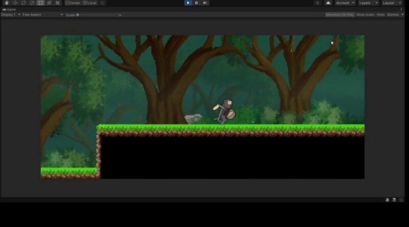 Unity Rain and Fog Shader. Pixel art game