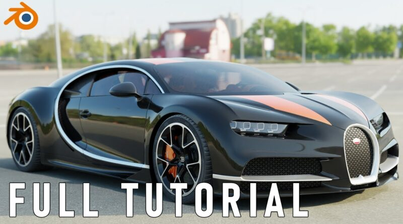 Blender Realistic car animation tutorial in under 5 minutes   Beginner