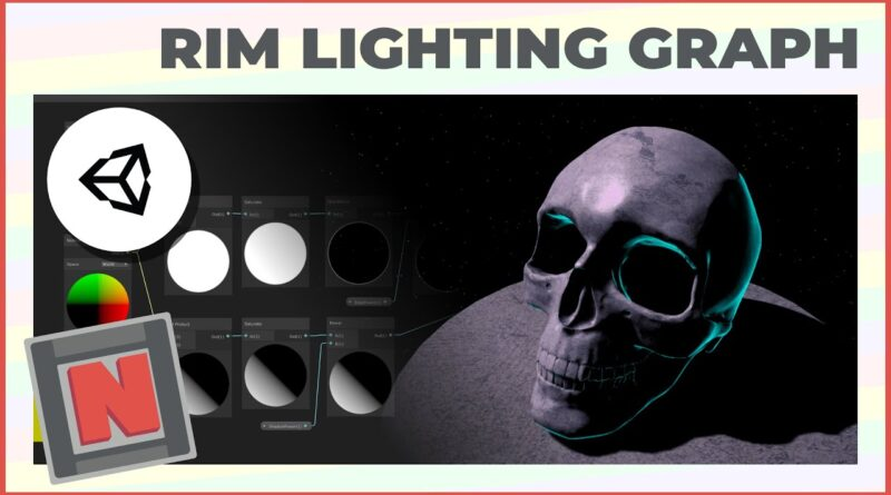 Announce: Rim Light Shader Graph in Unity URP! Moody and Atmospheric Lighting! | Game Dev Tutorial