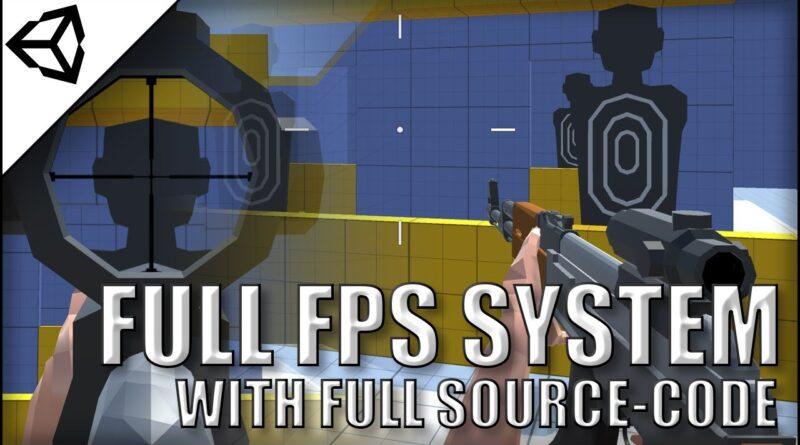 Advanced Guns FPS Controller with Tutorial (Code in desc.)