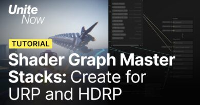 Shader Graph: Create for both URP and HDRP   Unite Now 2020