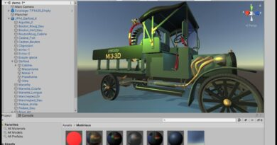 Unity 2019: Legacy Shaders pour Blender