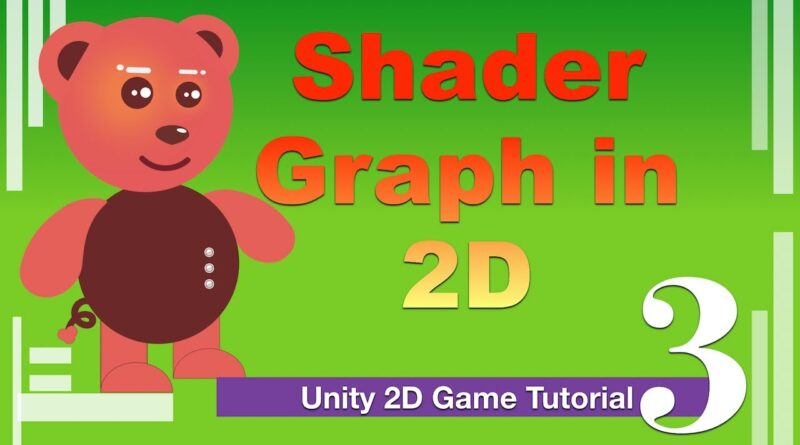 Get started with 2D Shader Graph Unity Dissolve Tutorial | Unity 2D Game Tutorial | Part 3