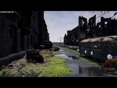 Speed Level Design  - Overgrown Ruins  - Unreal Engine 4
