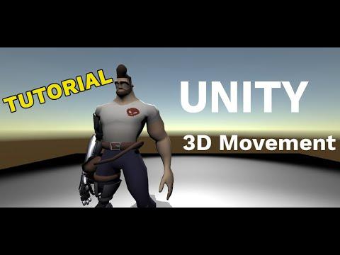 (Unity, Bolt visual scripting) 3D Movement Animation w/ Bolt [Tutorial]