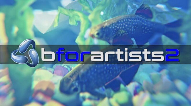 """BForArtists 2.70 -- The """"Easier"""" Blender"""